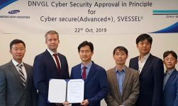 SHI Receives First AIP For DNV GL's Cyber Secure (Advanced+) Notation 9
