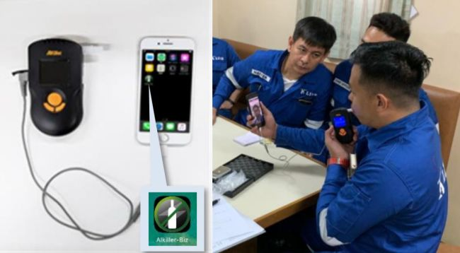 """""""K"""" Line To Install Alcohol Detector Linked To Smartphone On Board Fleet Vessels 5"""