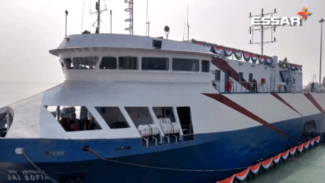 India: Essar Ports Gives Shape To Cruise Service Vision With Hazira Passenger Ferry Terminal