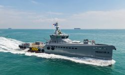 Three New Damen Patrol Vessels For SR Platforms Achieve Major Milestones