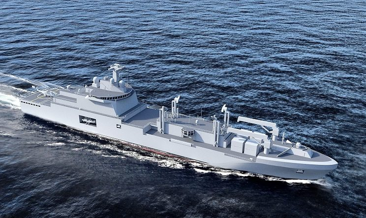 MAN Engines To Power French Naval Logistic Vessels 1