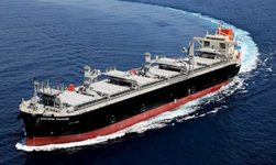 """MOL Receives Delivery Of Wood Chip Carrier """"Southern Treasure"""" 30"""