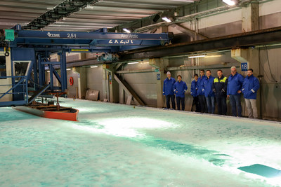 Seabourn Completes Ice Model Hull Test For New Ultra-Luxury Purpose-Built Expedition Ship 5