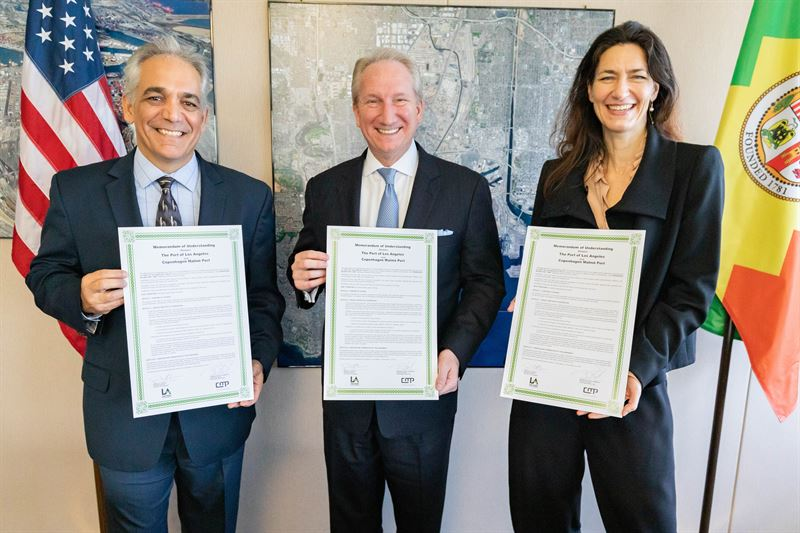 Ports Of Los Angeles And Copenhagen Malmö Sign Agreement To Collaborate On Sustainability And Environmental Issues 1