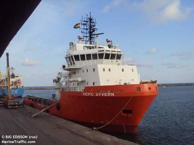 Anchor Handling Tug Supply Vessel Attacked Offshore Equatorial Guinea; 7 Crew Members Missing 1