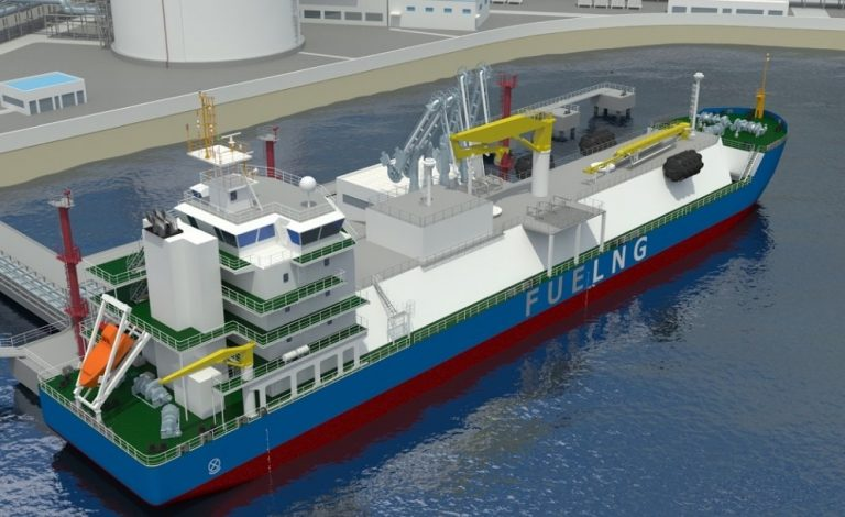 Singapore's First LNG-Bunker Vessel To Be Managed By FueLNG 5
