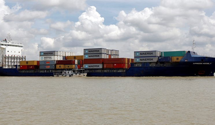India: First Ever Movement Of Container Cargo On Brahmaputra 1
