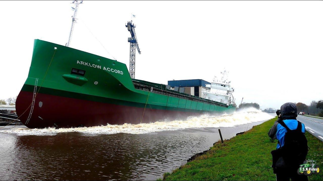 "Successful Launch Of Cargo Vessel ""Arklow Accord"" 5"