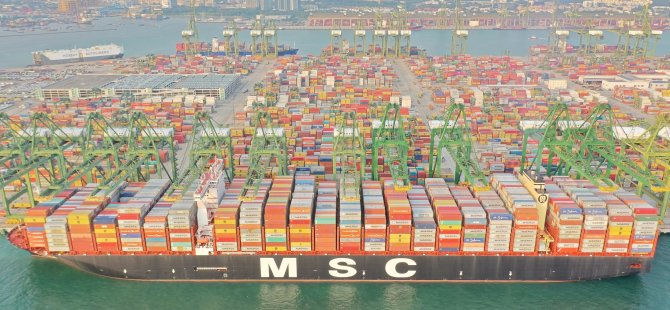 MSC Isabella – The 23656 TEU Giant Becomes Largest Container Ship To Call Port Of Singapore