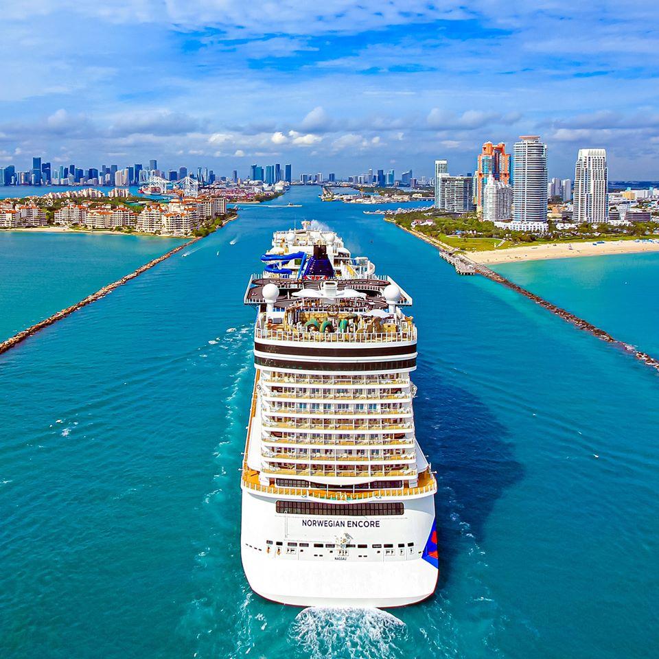 Norwegian Cruise Line Christens Newest Innovative Ship Norwegian Encore