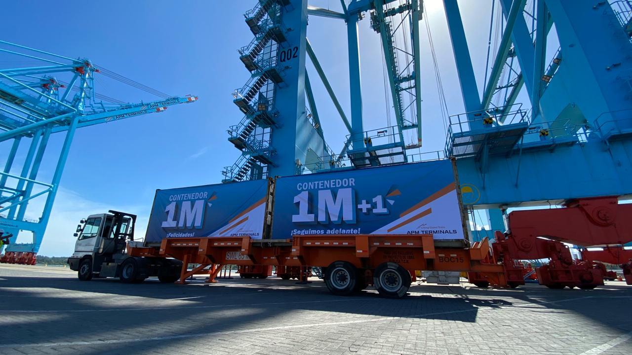 APM Terminals' Moín Container Terminal Reaches 1 Million TEUs 5