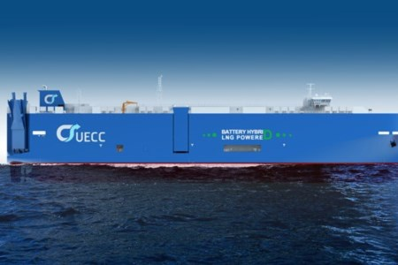 "UECC Secures ""Green Financing"" For New Battery Hybrid LNG PCTC Vessels 1"