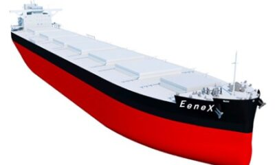 MOL Orders 2 Next-generation 'EeneX' Coal Carriers 5