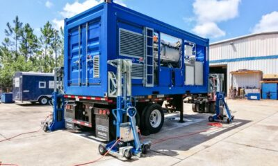 Container Jacking Systems Make Their Mark In Intermodal Container Logistics