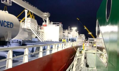 First LNG Bunkering Delivered Concurrent Cargo Operations In Port of Amsterdam 23