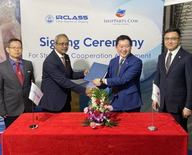 IRClass & Shipparts.com Ink Cooperation Agreement To Promote Indian Equipment Suppliers 5