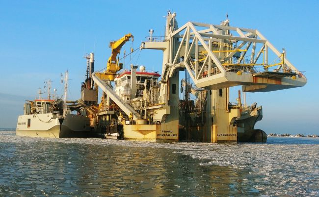 Jan De Nul Successfully Wraps Up Liepaja Port Dredging 4