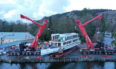 Damen Technical Cooperation Launches Windermere Lake Cruises' New Vessel 7