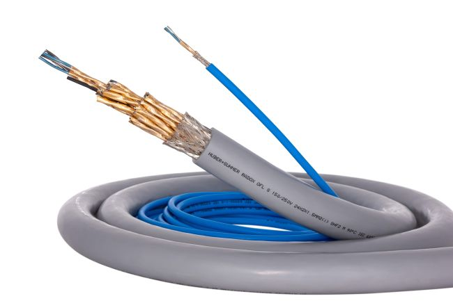 HUBER+SUHNER Launches Lightest And Most Compact Cable, Revolutionising Offshore Connectivity