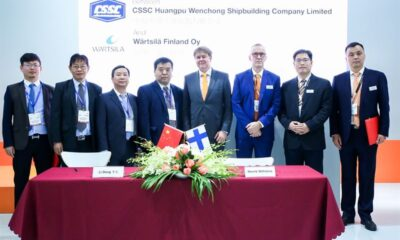 Wärtsilä & CSSC Huangpu Wenchong Shipbuilding To Jointly Develop Hybrid Vessels For Future