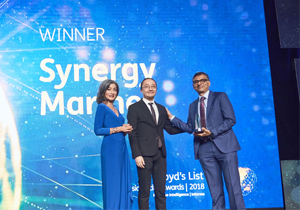 Synergy Wins Lloyd's List Excellence In Ship Management Award 9