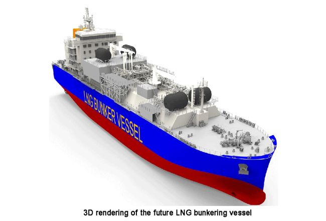 Total & MOL Charter First LNG Bunker Vessel To Operate In France 5