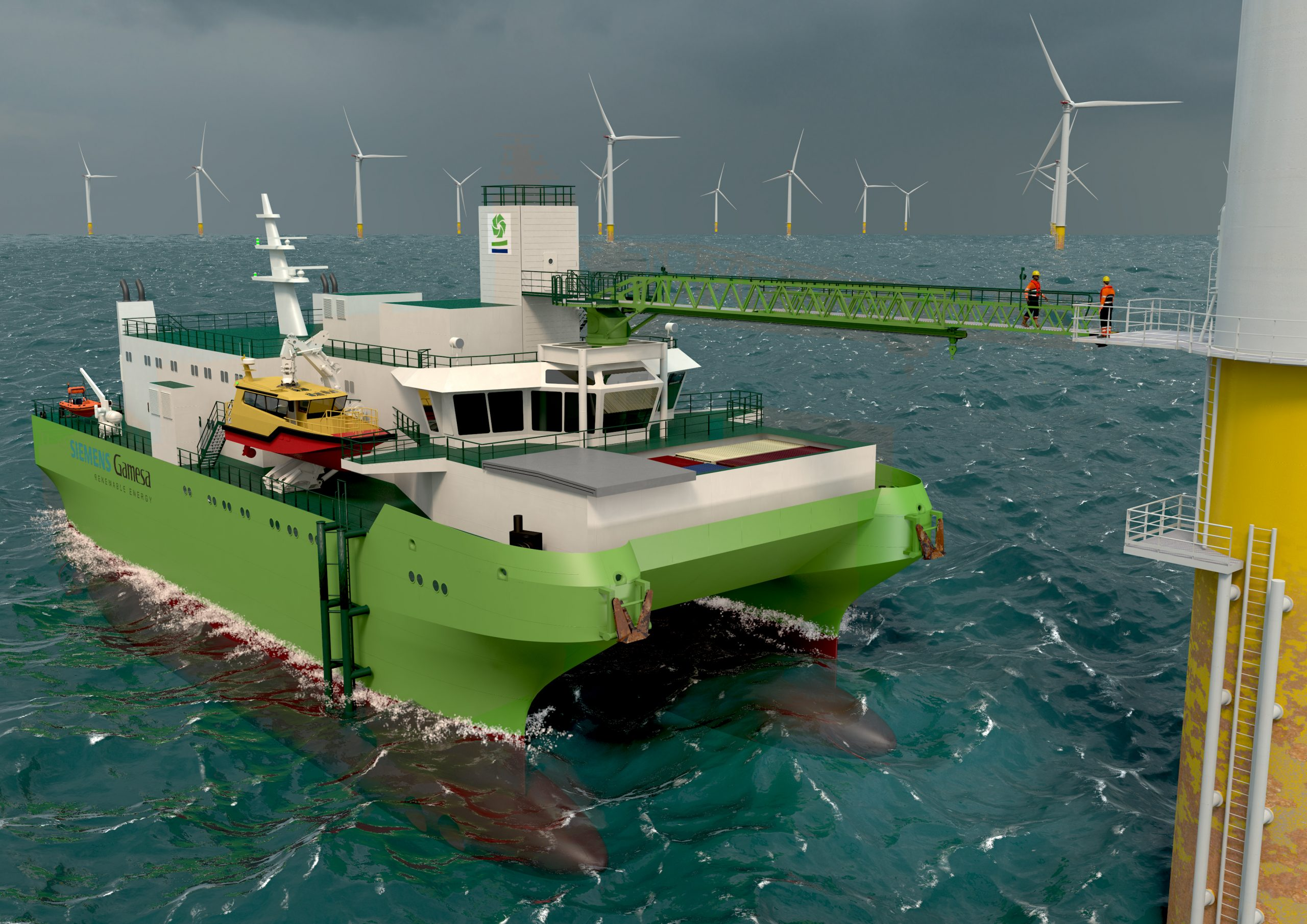 DEME Lays Keel Of First Dedicated Service Operation Vessel For Offshore Wind Farm Maintenance 5