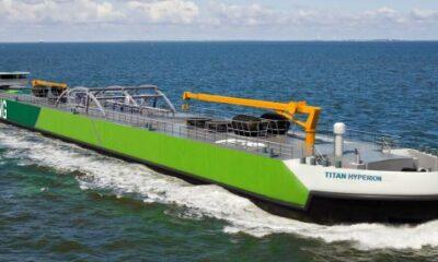 Titan LNG Tenders For Newbuild 8000 Cbm LNG Bunker Barge
