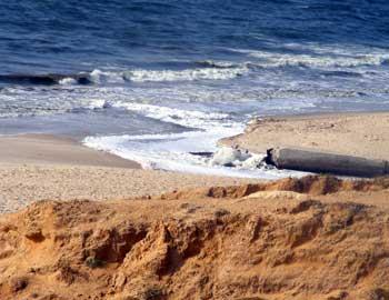 Sewage Dumping In Sea