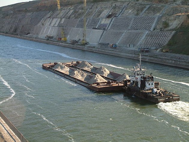 The Danube-Black Sea Canal