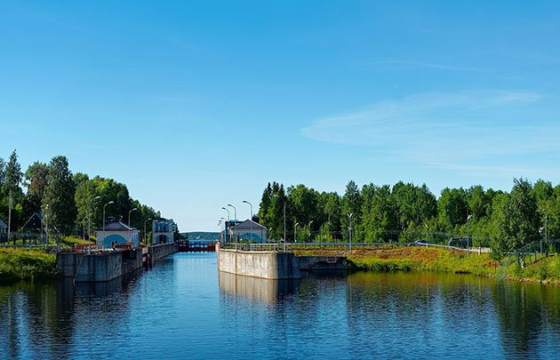 The White Sea-Baltic Canal