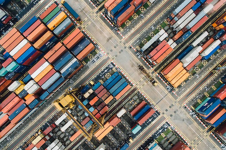 Container Depot - Aerial View