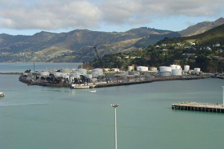 Lyttelton Port oil terminal