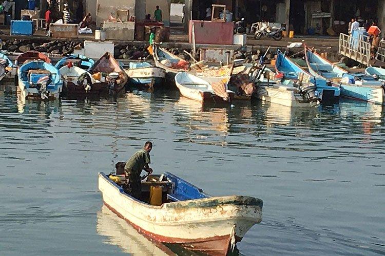 Fishing in Gulf of Aden