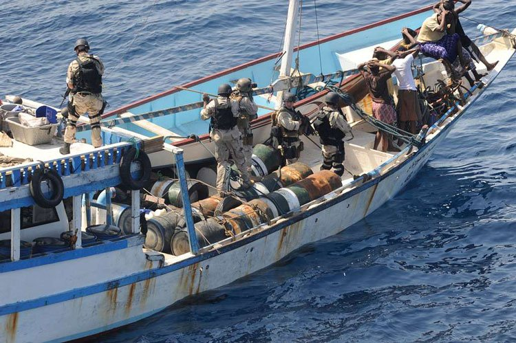 Pirates in Gulf of Aden